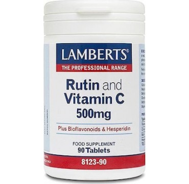 Lamberts Rutin & C-500 & Bioflavonoids 90 Tabs