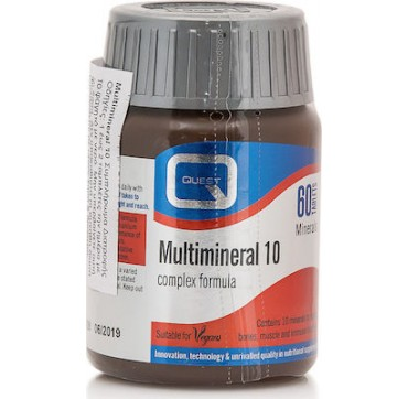 Quest Nutrition Multimineral 10 (Cal-Mag Plus) 60 tabs