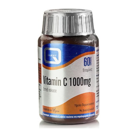 Quest Vitamin C Timed Release 1000mg 60tabs