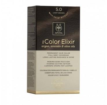 Apivita My Color Elixir 5. 0 Κάστανο Ανοιχτό
