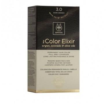 Apivita My Color Elixir 3. 0 Κάστανο Σκούρο 1τεμ.