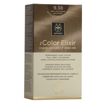 Apivita My Color Elixir 9. 38 Ξανθό Πολύ Ανοιχτό Μελί Περλέ 1τμχ