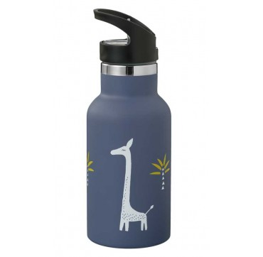 Fresk Nordic Flask Giraf Θέρμος Από Ανοξείδωτο Ατσάλι Με Καλαμάκι & Διπλό Πώμα 350ml (fd300-60)