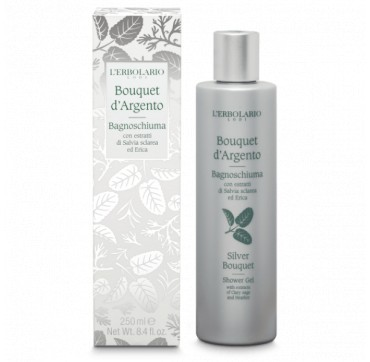 L' Erbolario Silver Bouquet Shower Gel 250ml