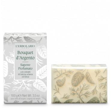 L' Erbolario Silver Bouquet Perfumed Soap 100g