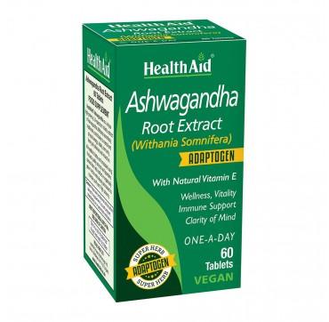 Health Aid Ashwagandha Root Extract 60tabs
