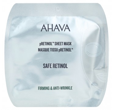 Ahava pRetinol Sheet Mask Firming & Anti-Wrinkle 16ml