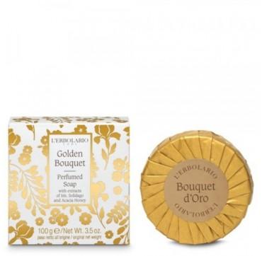 L' Erbolario Golden Bouquet Perfumed Soap 100g