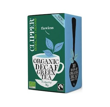 Clipper Organic Green Tea Decaf 20 teabags