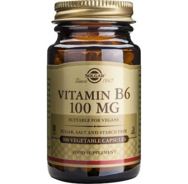 Solgar Vitamin B6 100mg 100caps