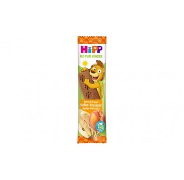 Hipp Μπαρα Δημητριακών με Τραγανή Βρώμη, Μήλο & Ροδάκινο 20g