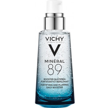 Vichy Mineral 89 Hyaluronic Acid Face Moisturizer Καθημερινό Booster Ενδυνάμωσης 50ml