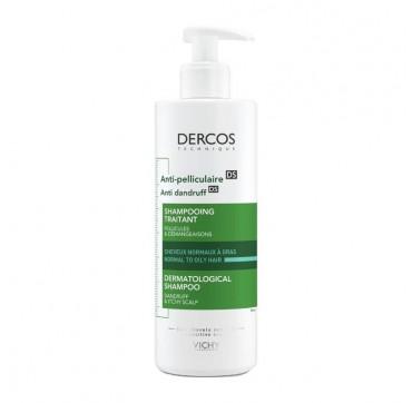 Vichy Dercos Anti - Dandruff Shampoo Normal/oily Hair 390ml
