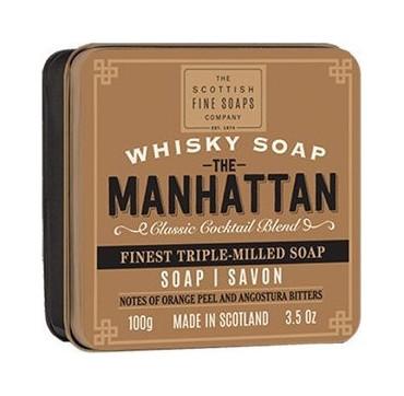The Scottish Fine Soaps The Manhattan Finest Triple-Milled Soap 100gr