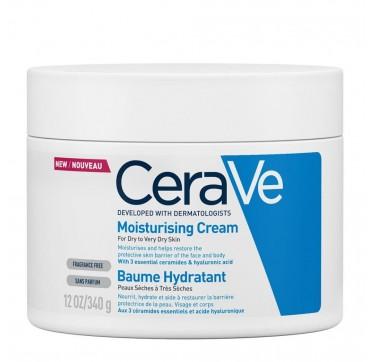 Cerave Moisturizing Cream Ενυδατική Κρέμα Για Ξηρό/πολύ Ξηρό Δέρμα 454g