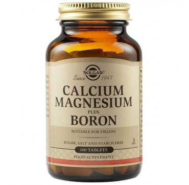Solgar Calcium Magnesium + Boron 100tabs