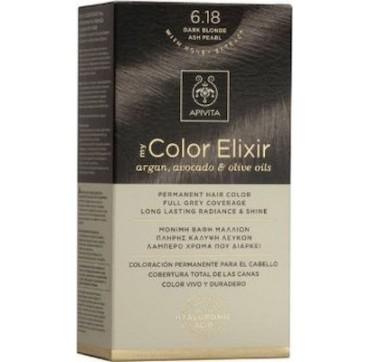 Apivita My Color Elixir 6.18 Ξανθό Σκούρο Σαντρέ Περλέ 1τμχ