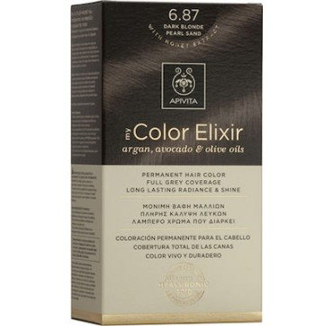 Apivita My Color Elixir 6.87 Ξανθό Σκούρο Περλέ 1τμχ