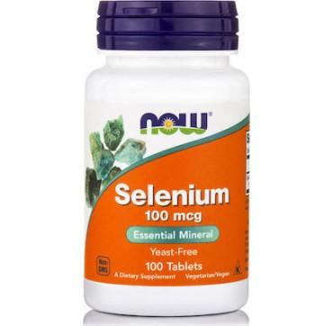 Now Foods Selenium 100mcg 100 Caps