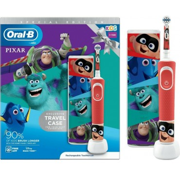 Oral-B Kids 3+ Years Vitality Special Edition Pixar & Travel Case 1τμχ