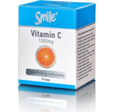 Smile Vitamin C 1000mg 15 φακελίσκοι