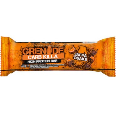 Grenade Carb Killa 21g High Protein Bar Jaffa Quake 60g