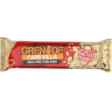 Grenade Carb Killa 20g High Protein Bar White Chocolate Salted Peanut 60g