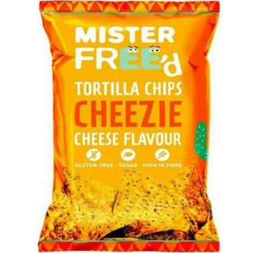 Mister Free'd Τσίπς τορτίγιας με γέυση υποκατάστατο τυριού Χ/ΓΛ - vegan 135g