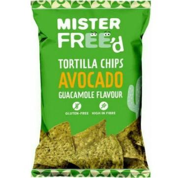 Mister Free'd Tortilla Chips Αβοκάντο & Guacamole 135g