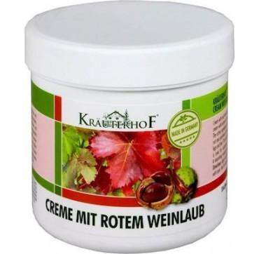 Krauterhof Κρέμα Ποδιών Αγριοκάστανο & Κόκκινα Αμπελόφυλλα 250ml