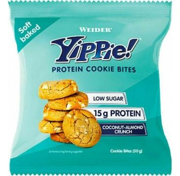 Weider Nutrition Yippie Protein Cookie Bites 50g