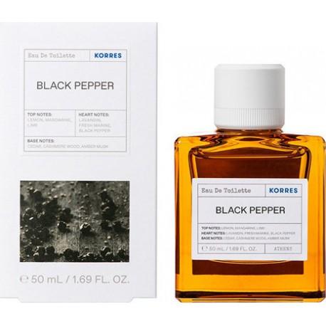 Korres Αντρικό Άρωμα Black Pepper 50ml