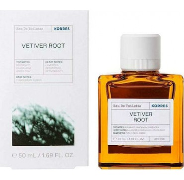 Korres Ανδρικό Άρωμα Vetiver Root Green Tea Cedarwood 50ml