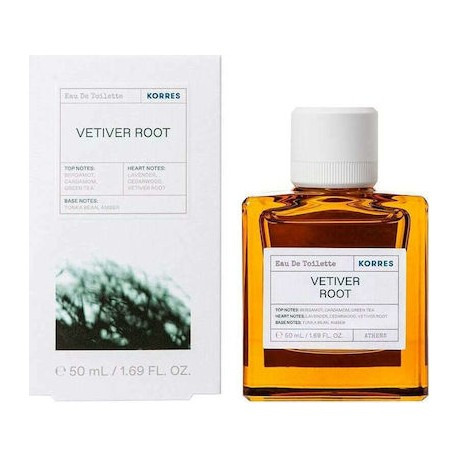 Korres Ανδρικό Άρωμα Vetiver Root Green Tea Cedarwood 50ml