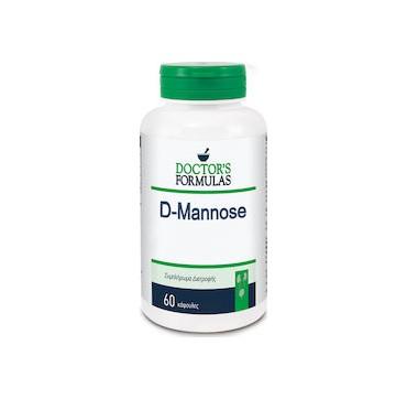 Doctor's Formulas D-Mannose Προφυλάσσει από Λοιμώξεις του Ουροποιητικού Συστήματος 60caps