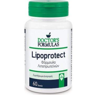 Doctor's Formulas Lipoprotect Συμβάλει στη διαχείριση της Υπεριλιπιδαιμίας 60 tabs