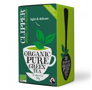 Clipper Organic Green Tea Βιολογικό Πράσινο Τσάι 20teabags 40g