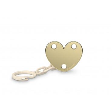 Suavinex Jewel Heart Κλιπ Πιπίλας 0m+ 1τμχ