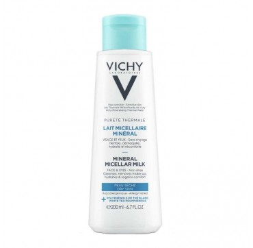 Vichy Purete Thermale Mineral Micellar Milk 200ml