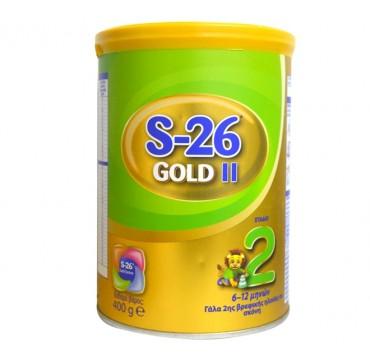 Nestle s-26 Gold No2 Βρεφικό γάλα σε Σκόνη 6-12m 400g