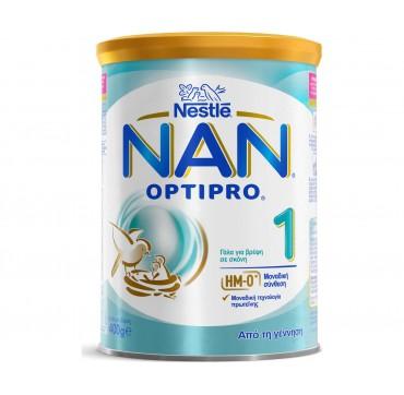 Nestle Nan Optipro 1 Γάλα 1ης Βρεφικής Ηλικίας σε Σκόνη 0-6m 400gr