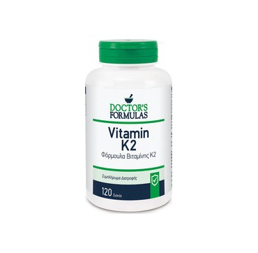 Doctor's Formulas Vitamin K2 Συμπλήρωμα Διατροφής με Βιταμίνη Κ2 120 caps