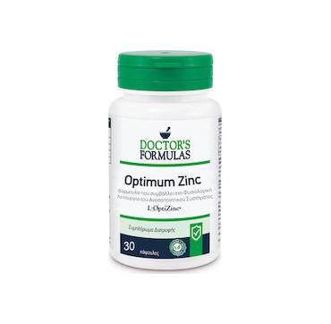 Doctor's Formulas Optimum Zinc με Ψευδάργυρο που Ενισχύει το Ανοσοποιητικό Σύστημα 30caps