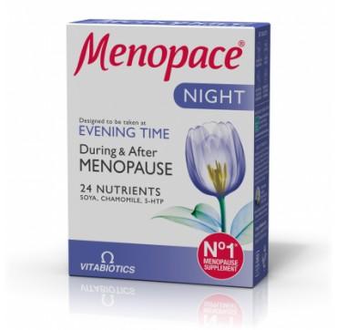 Vitabiotics Menopace Night 30tabs