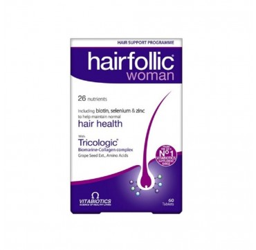 Vitabiotics Wellwoman Hairfolic (tricologic) 60tabs