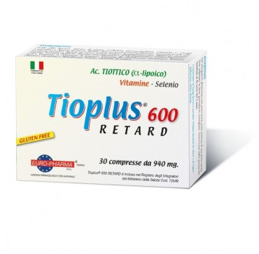 Bionat Tioplus 600 Retard 940mg 30tabs