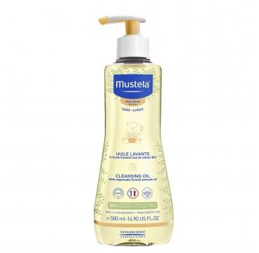 Mustela Stelatopia Βρεφικό Λάδι Καθαρισμού Για Σώμα & Μαλλιά 500ml