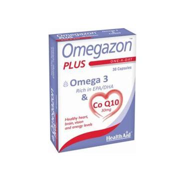 Health Aid Omegazon Plus Ω3+coq10 30caps