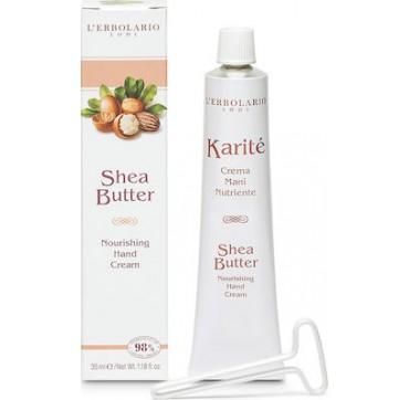 L' Erbolario Karite Shea Butter Nourishing Hand Cream 35ml