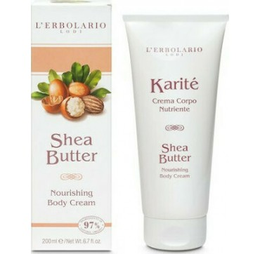 L' Erbolario Karite Shea Butter Nourishing Body Cream 200ml
